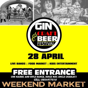 GIN & CRAFT BEER FESTIVAL @ Weekend Market JHB | Johannesburg South | Gauteng | South Africa