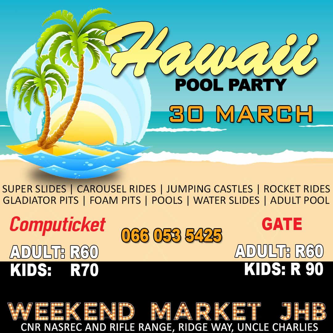 Hawaii Pool Party