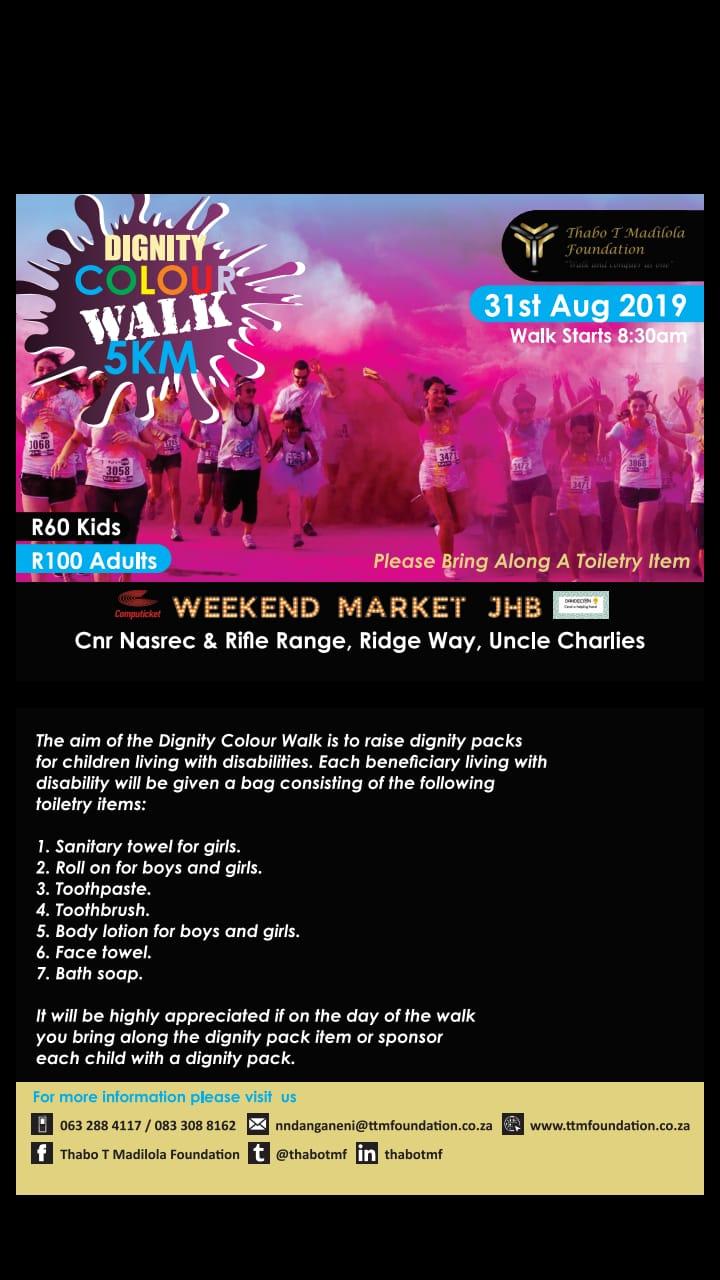 Dignity Colour Walk 5km