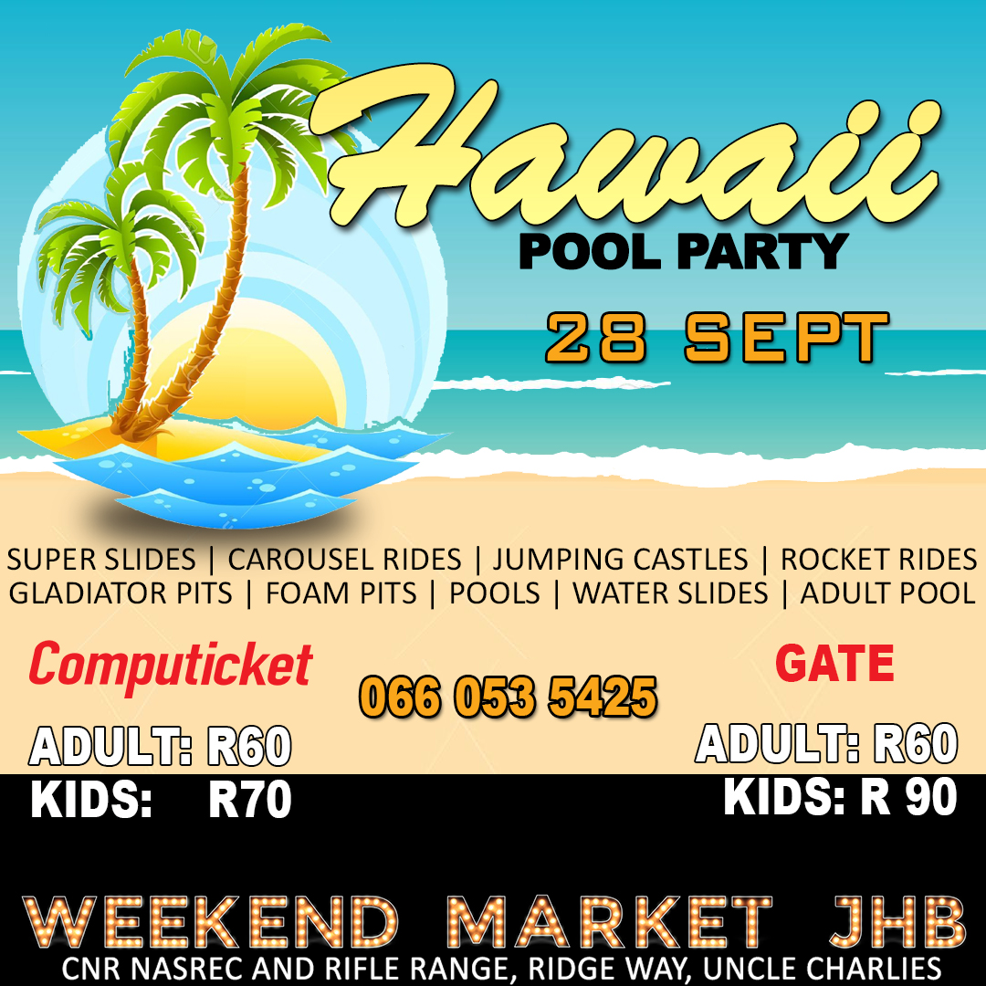 WAterPark Hawaii Pool Party