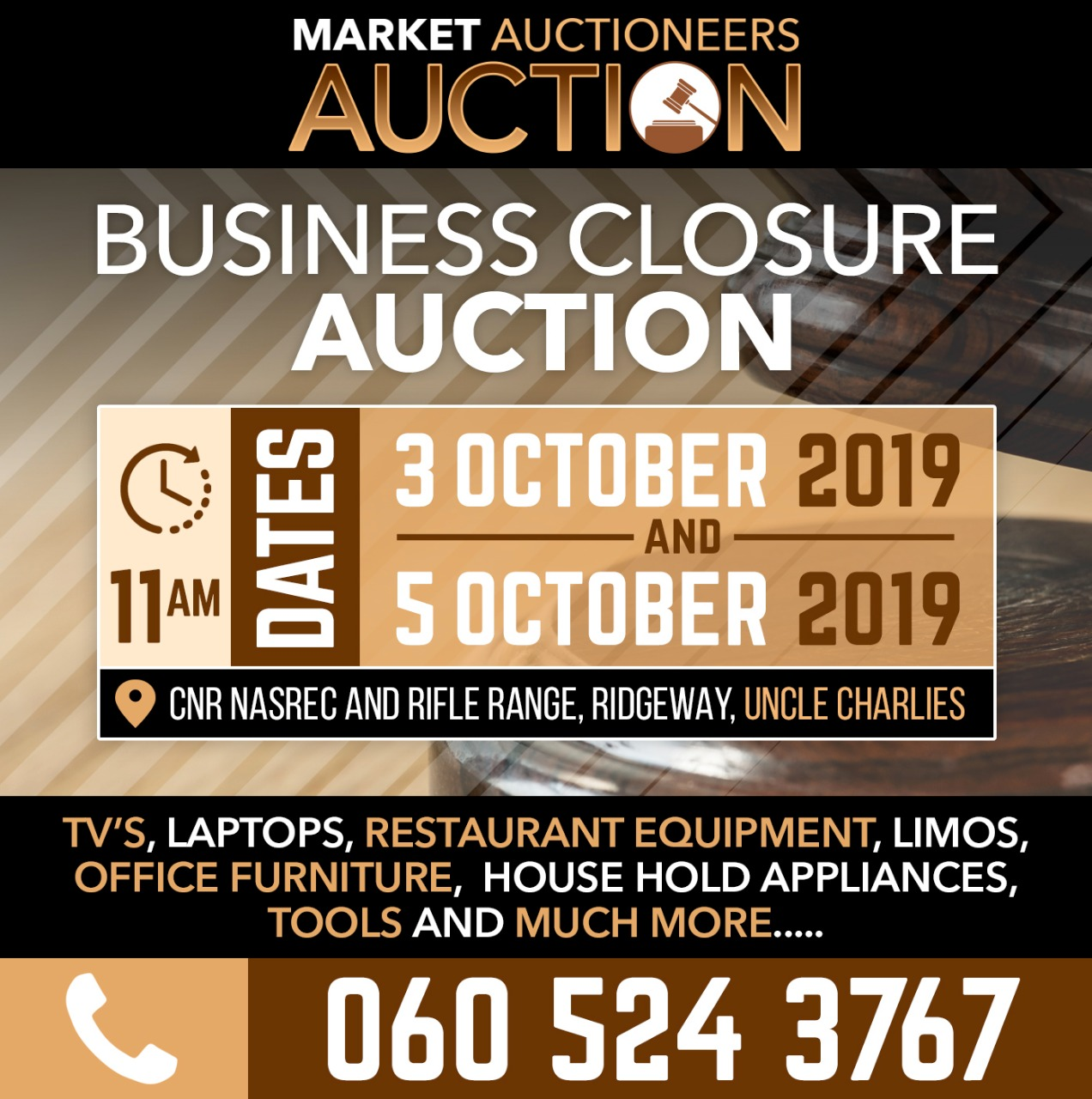 Market Auction 3 Oct