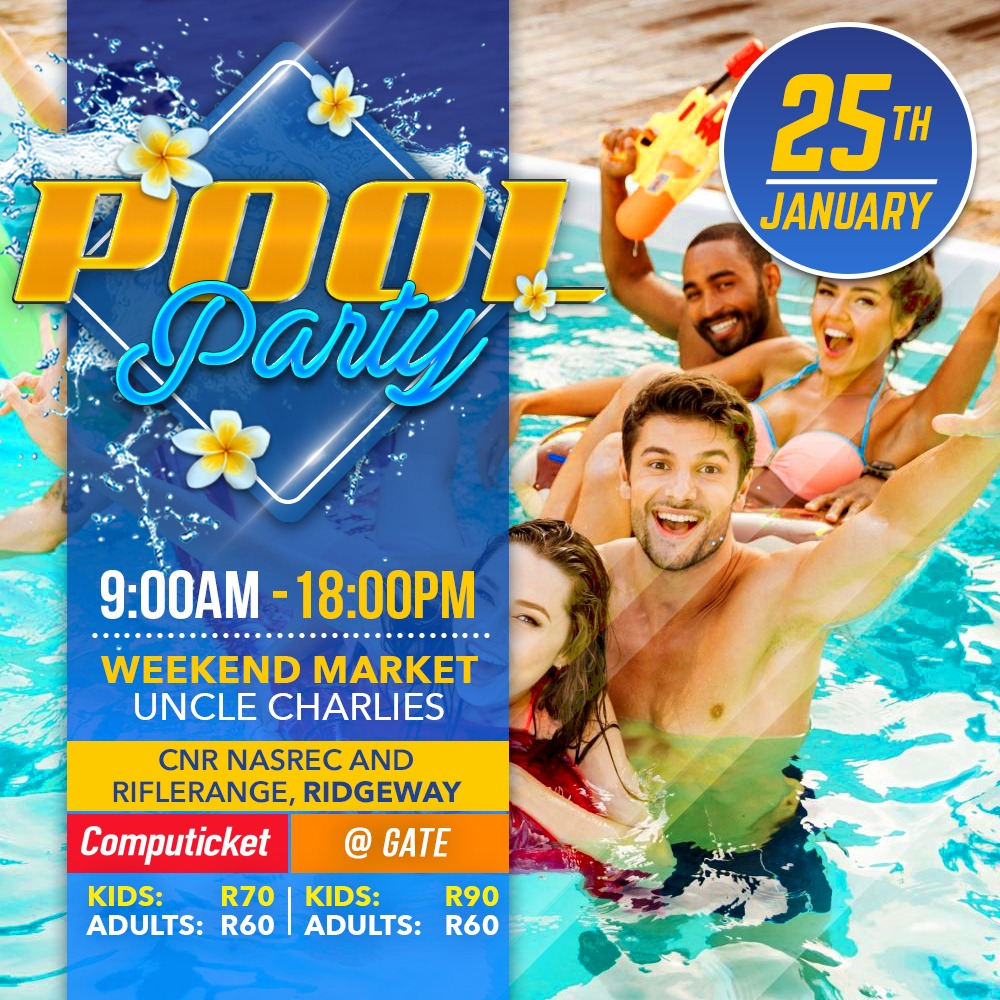 Pool Party 25th Jan