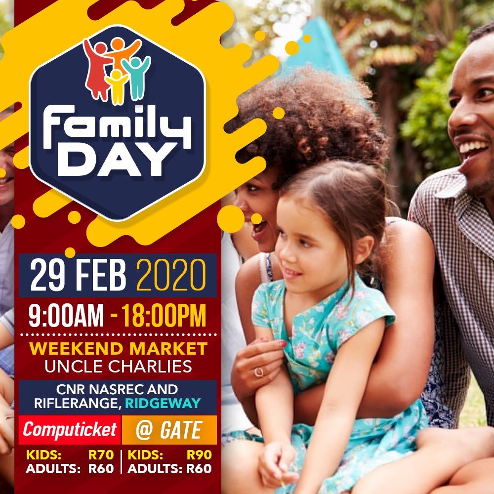 FAMILY DAY 29 FEB 2020