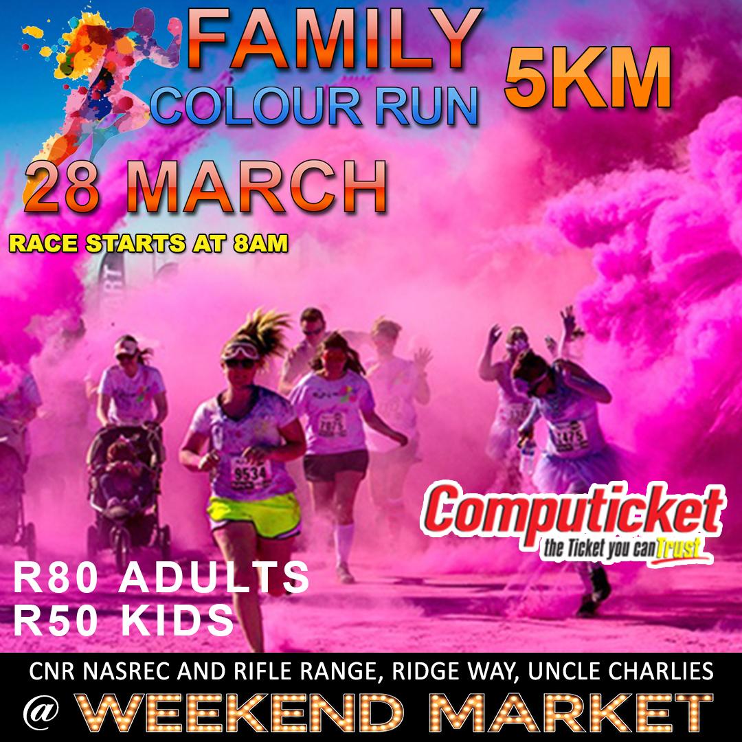 Family Colour run